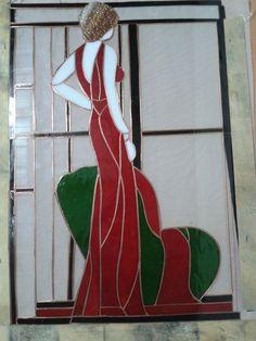 vitray kadın tablosu