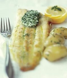 Model Cooking: Grilled Dover Sole - Swap burgers & sausages for a healthy fish BBQ this summer...     Recipe behind the click...