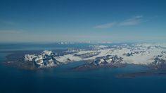 Svalbard vue avion - blog Bar a Voyages #Svalbard #spitzberg #norvege #ice #banquise #arctique #arctic #glacier #paysage #landscape #norway