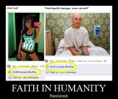Restore faith humanity - This page is SO COOL!!!