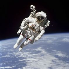 HOUSTON (AP) — NASA astronaut Bruce McCandless, the first person to fly freely and untethered in space, has died. He was 80.