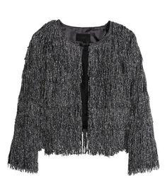 H&M Fringed jacket 399 AED