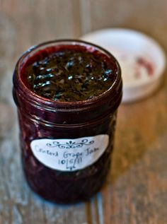 Homemade Grape Jelly - just what I need for my delicious meatballs without resorting to store bought, preservative filled, jelly!