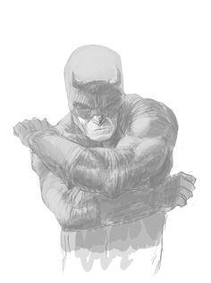"comicbooks: "" Daredevil sketch by Kris Anka "" Daredevil Punisher, The Devil Inside, Comic Art, Comic Books, Hells Kitchen, Comics Universe, American Comics, Conceptual Art, Super Powers"