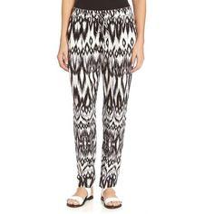 Karen Kane Printed Drawstring Pants - Printed Pants http://www.gossipness.com/shopping/karen-kane-printed-drawstring-pants