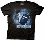Dr. Who Space Vortex mens t-shirt Dr. Who Space Vortex mens t-shirT.  Any Doctor Who fan will love this traditional fit Black cotton t-shirt with a cool Doctor Who graphic on the front.  Represent one of your favorite licenses by wearing this graphic tee with pride. Dr. Who Space Vortex mens t-shirt.  Reserve this classic t-shirt by ordering today.