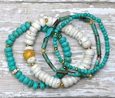 Shell and Turquoise