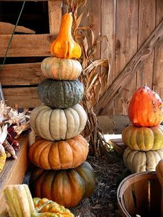 Stacked gourds