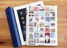 Turn your Instagram photos into a custom iPad case