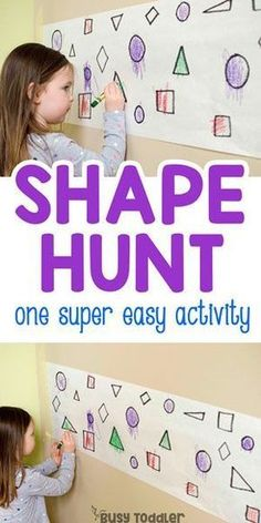 Find the Shapes Math Activity What a great math activity! Check out FInd the Shapes - a quick and easy math activity for toddlers and preschoolers. A fun learning activity with shapes from Busy Toddler. Math Activities For Toddlers, Preschool Lessons, Kindergarten Activities, Classroom Activities, Toddler Preschool, Preschool Alphabet Activities, Activities For 5 Year Olds, Preschool Shapes, Numeracy Activities