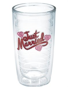 Just Married  - 16oz tumbler
