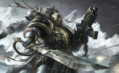 Space wolf - Warhammer 40k