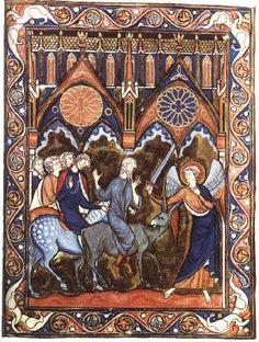 Psalter of St Louis 1252-70 Illumination on parchment, 21,0 x 14,5 cm Bibliothèque Nationale, Paris