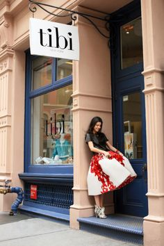 """Tibi store located at 120 Wooster St in Soho.  You can see a shot of the store on """"Fashion Hunters"""", filmed at Second Time Around boutique."""