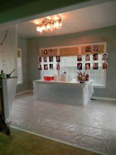 Halloween Decorating Recap dexter kill room