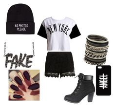 """""""Untitled #14"""" by alcaraz241 ❤ liked on Polyvore featuring moda, SELECTED, :CHOCOOLATE, ALDO y JFR"""