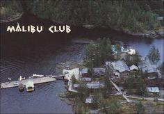 Aerial view, Young Life's Malibu Club,  Vancouver,  B.C.,  Canada,  PU_ 50-70s