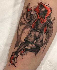 My new Spider-Man tattoo! Artist is from Most Wanted Tattoo, São Paulo Marvel Tattoos, Spiderman Tattoo, Avengers Tattoo, Badass Tattoos, New Tattoos, Hand Tattoos, Tattoos For Guys, Sleeve Tattoos, Tatoos