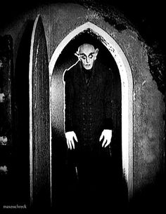 Nosferatu. Strangely Freaky. I watched the movie all the way through - not a small accomplishment.