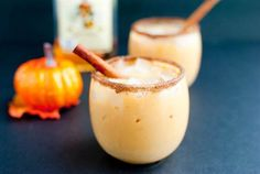 Pumpkin Spiced Horchata: A classic Mexican drink is altered to include pumpkin, cinnamon sugar, and of course — booze! It's so good, we wish it could be Thanksgiving all year round.