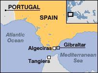 Gibraltar Spain Map map of England Gibraltar Pinterest Spain