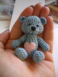 Free bear crochet pattern amigurumi in French