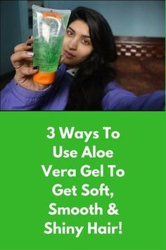 3 Ways To Use Aloe Vera Gel To Get Soft, Smooth & Shiny Hair! Aloe Vera Gel Hair Mask : Ingredients : Aloe Vera Gel – 2 tablespoons Pure honey – 1 tablespoons Yogurt or Curd – 2 tablespoons Directions : Mix all the ingredients well in a clean bowl and whisk it, if you have a whisker. Comb your to make sure there are no tangles Apply this …