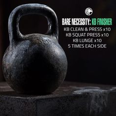If you still have some gas in the tank at the end of your regular workout, the Kettlebell Finisher Workout is for you.