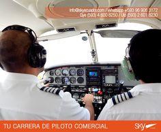 Conoces nuestra Aeronave multimotor?   Fórmate como Piloto Comercial en #Ecuador !  Siguiente curso: #Quito - FEBRERO / MATRICULAS ABIERTAS  #Guayaquil - FEBRERO / MATRICULAS ABIERTAS #SALINAS - FEBRERO /MATRICULAS ABIERTAS    Para mayor información escríbenos a: info@skyecuador.com o mensajes WhatsApp 096 906 3172  Teléfonos:  02 601-8230 #Quito  04 600 8250 #Guayaquil http://goo.gl/H7U4mN