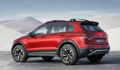 The Volkswagen Tiguan GTE Active Concept is a Hybrid Off-Roader You Want