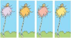 Earth Friendly Lorax by Dr Seuss - Illustration