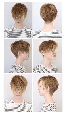 The Mommist: Hair Muse: Soft Undercut - Hair cuts - Cheveux Short Pixie Haircuts, Hairstyles Haircuts, Pretty Hairstyles, Short Hair Cuts, Short Hair Styles, Pixie Cuts, Shaved Hairstyles, Hairstyle Ideas, Corte Y Color