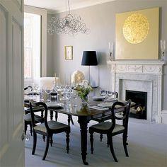 Georgian dining room | Dining room furniture | Decorating ideas | Image | Housetohome