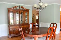 Mom and Dad's big dining room reveal, and putting Olympic One Interior Paint #UpToTheTest!