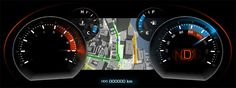 Someday in-car display cluster will be just one of 'n-screen' for us.. 【 Automotive Digital Instrument Clusters | NVIDIA Tegra | NVIDIA UK 】