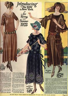 The National Money Saving Style Book, Spring and Summer 1923