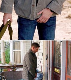Dean 'protecting' himself - 9x02/10x19 [gifset]