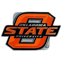 Oklahoma State Cowboys NCAA Logo Hitch Cover
