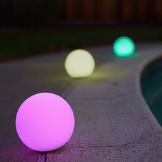 3 Playbulb Sphere Lamps - by MiPow #MONOQI