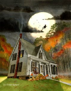 Spoooook house...