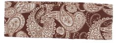 Violet & Virtue Women's Traditional Paisley Print Headband