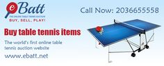eBatt is an Online Table Tennis shopping store. Here you can buy the table tennis equipments by placing an order. Also, You can contact through phone at +44-2036655558.