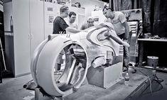 Tron Legacy Light Cycle | danielsimon Tron Light Cycle, Fantasy Play, Sf Movies, V Tech, Tron Legacy, Transportation Design, Sci Fi Art, Cool Bikes, Motor Car