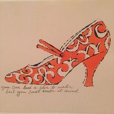 #newyork #nyc #moma #art #andywarhol #warhol #shoes #instashoes #igersnyc #simonsshoes #lithograph