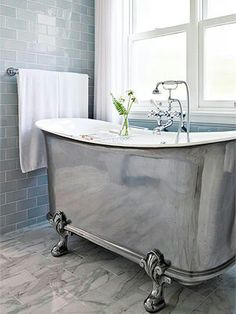 @CheviotProducts likes this spin on a clawfoot tub!