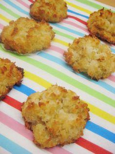 Kokos makronen met quinoa - heerlijk gezonde koekjes