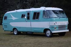 Dodge vintage motor home RV