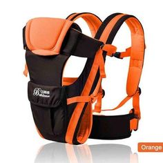 4 in 1 Comfortable  Front Facing Sling Backpack Pouch Wrap Baby Kangaroo Breathable Baby carrier 0-30 Months orange Blue 0-30 Months Blue best  for dad mum products website online buy sell shops store backpack,carrier sling Newborn