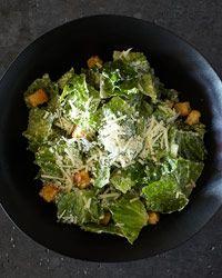 Classic Caesar Salad Recipe from Food & Wine- OMG best caesar dressing recipe EVER!