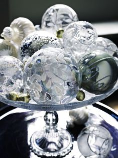 Christmas Tree Balls silver